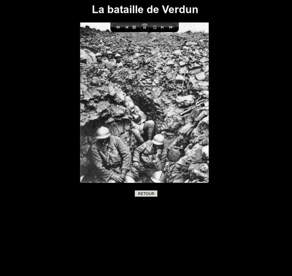 La bataille de Verdun photos