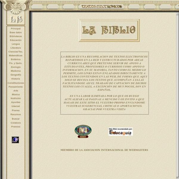 LA BIBLIO