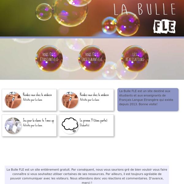 La bulle FLE