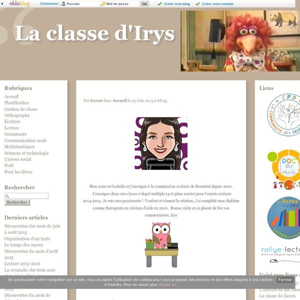 La classe d'Irys -