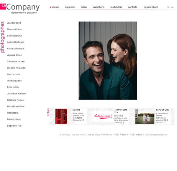 La Company - Agence de photographes