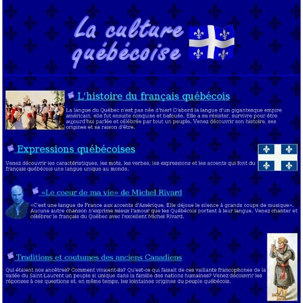 La culture québécoise