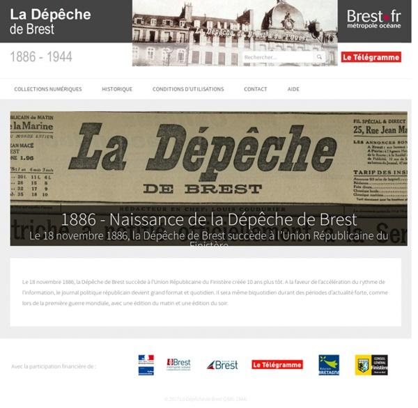 La Dépêche de Brest (1886-1944)