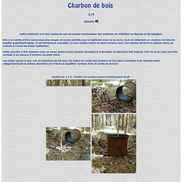 1 la fabrication du charbon de bois Pearltrees # Fabrication Du Charbon De Bois