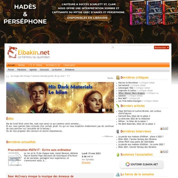 La Fantasy au quotidien - Elbakin.net