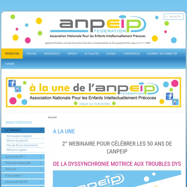 ANPEIP - Edito