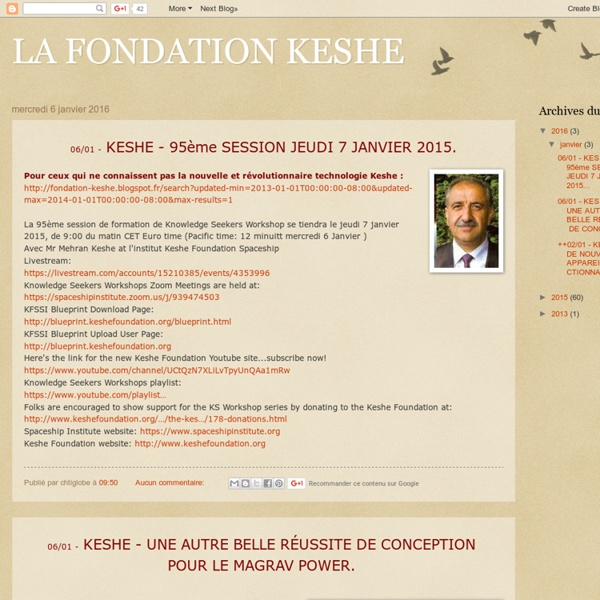 LA FONDATION KESHE