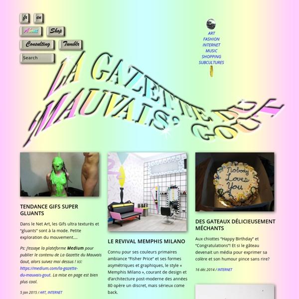 La Gazette Du 'Mauvais' Gout