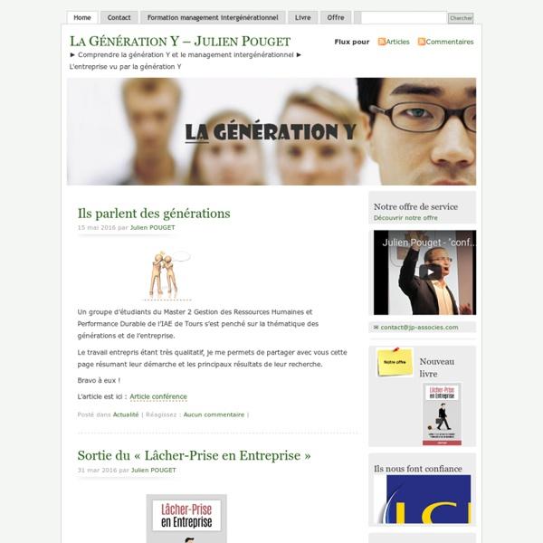 Site - La Génération Y - Julien Pouget