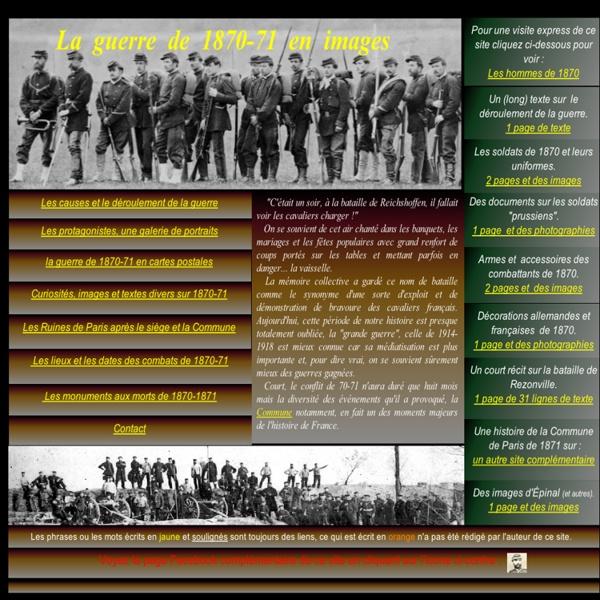 La guerre de 1870 en images