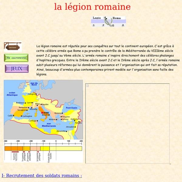 La Légion Romaine