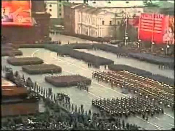 La marche des Soviet