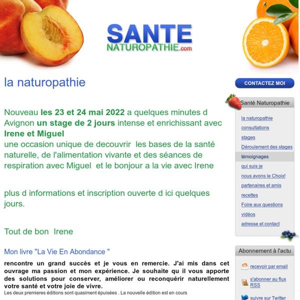 Santé Naturopathie - la naturopathie