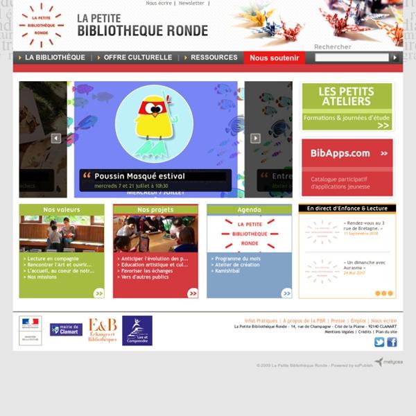 La Petite Bibliothèque Ronde - Le site officiel - La Petite Bibliotheque Ronde