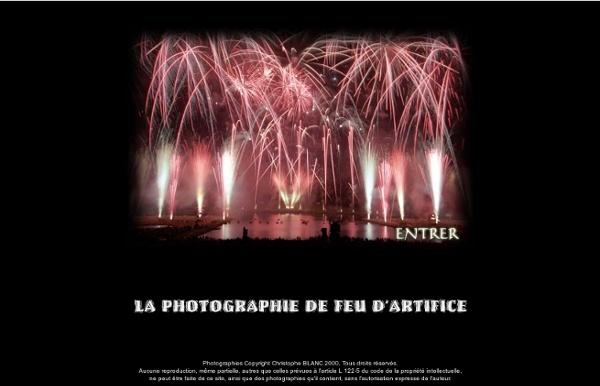 La photographie de feu d'artifice