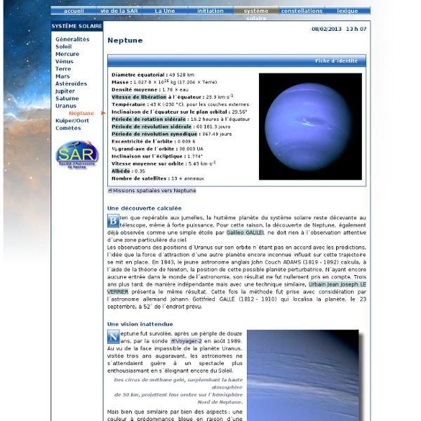 La planète Neptune