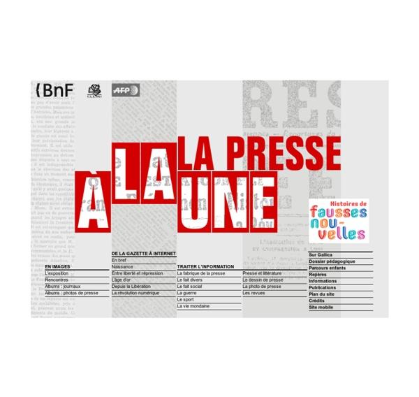 La presse à la une (BnF)