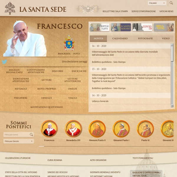 Vatican: the Holy See