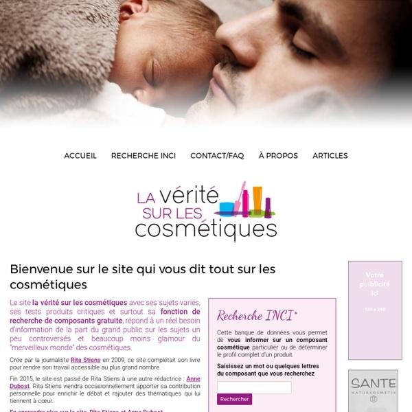 Www.laveritesurlescosmetiques.com