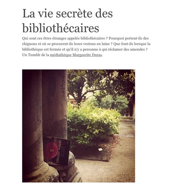 La vie secrète des bibliothécaires