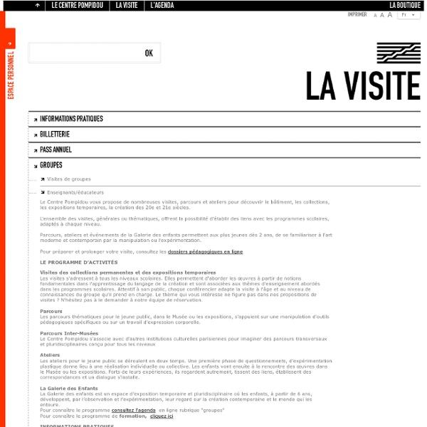L'art surréaliste : centre Pompidou