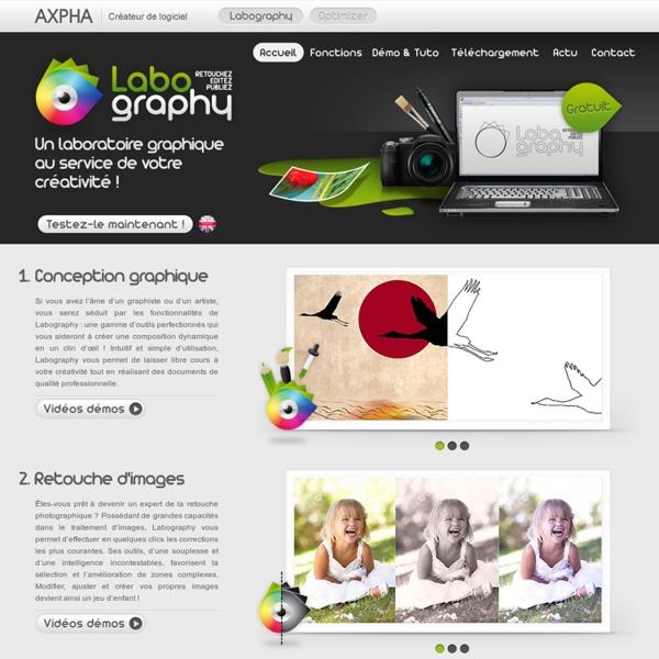 Echelle basée sur le contenu - Labography - Créateur de logiciel - Axpha, Labography : Retouchez, éditez, publiez