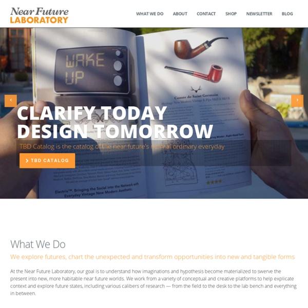 Clarify today, design tomorrow