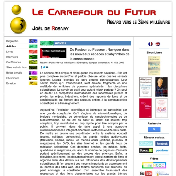 Du Pasteur au Passeur : Naviguer dans les nouveaux espaces et labyrinthes de la connaissance