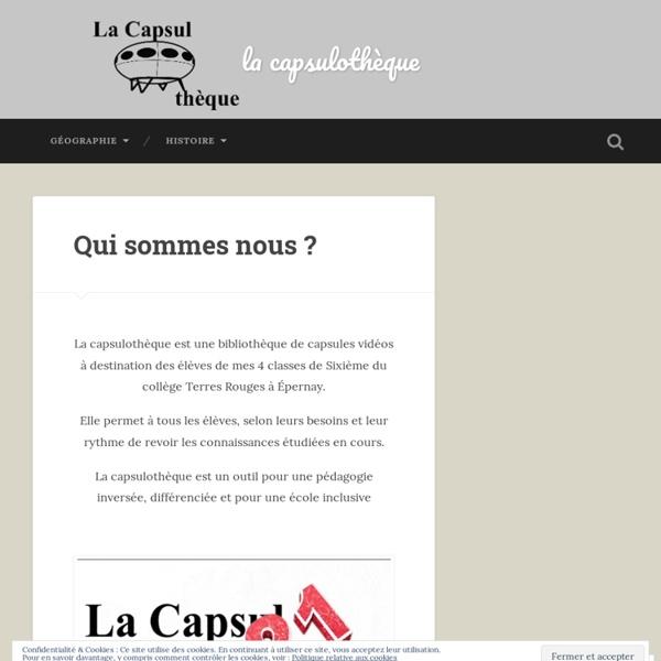 Lacapsulotheque