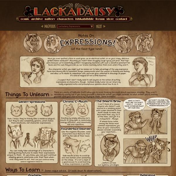 Lackadaisy Expressions