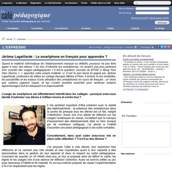 BYOD en français