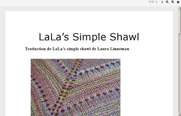 Lala's Simple Shawl