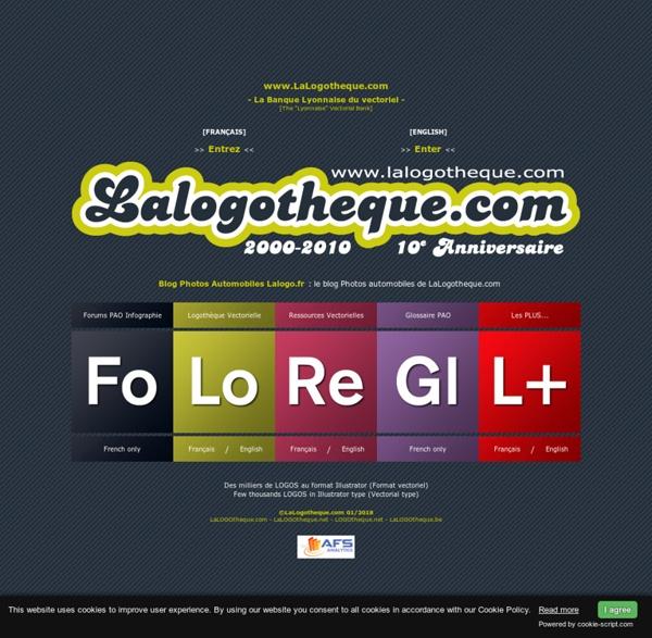 LaLogotheque.com : Banque de LOGOS et ressources vectorielles (format Illustrator). logo, logos, logotheque, illustrator, vectorial, vectoriel