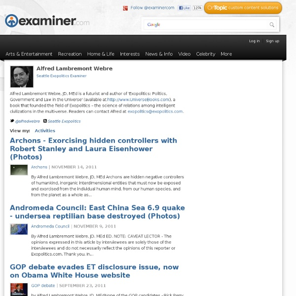 Seattle exopolitics Examiner - Government