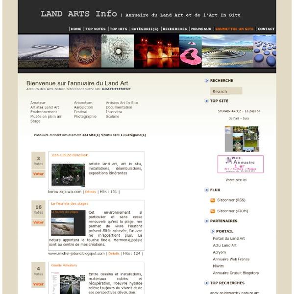 LAND ARTS Info