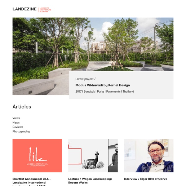 Landscape Architecture Works