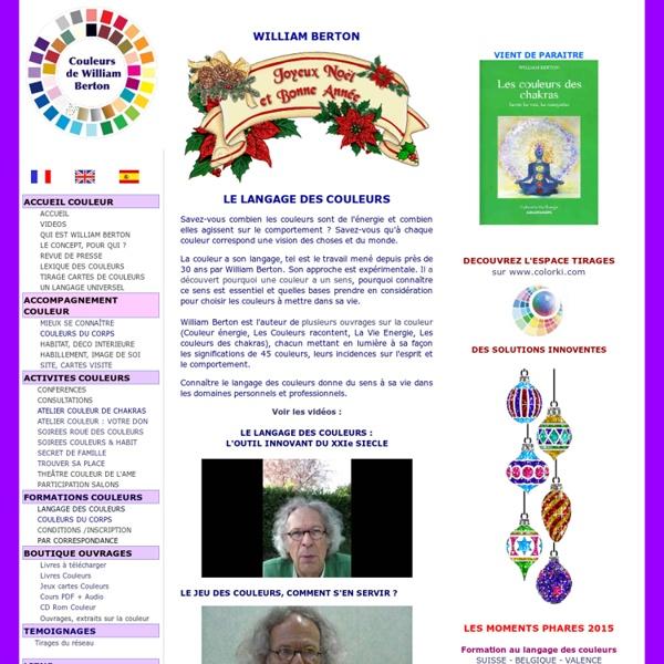 Langage et symbolique des couleurs
