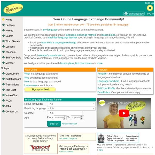 Multi Lingual Language Learning And Language Exchange Lang ...