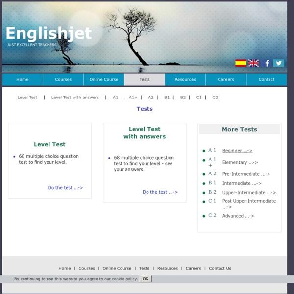 English Language Internet Resources