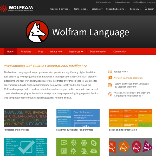 Language: Introducing Knowledge-Based Programming