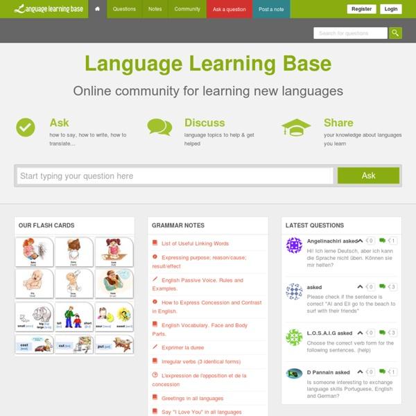 Language Learning Base