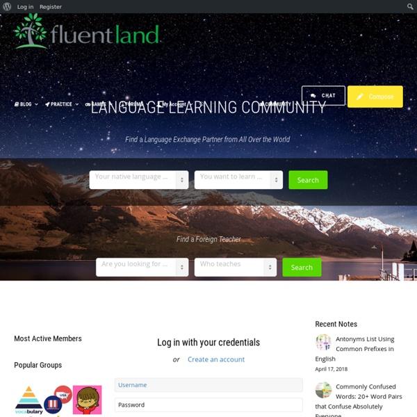 Fluent Land - Learning Foreign LanguagesFluent Land