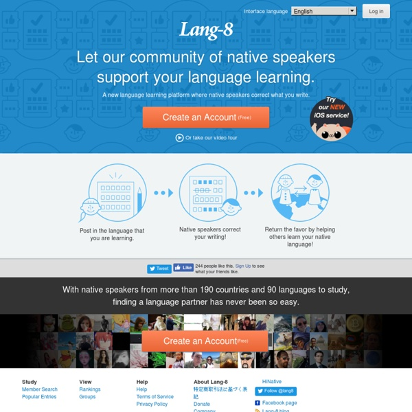 Multi-lingual language learning and language exchange