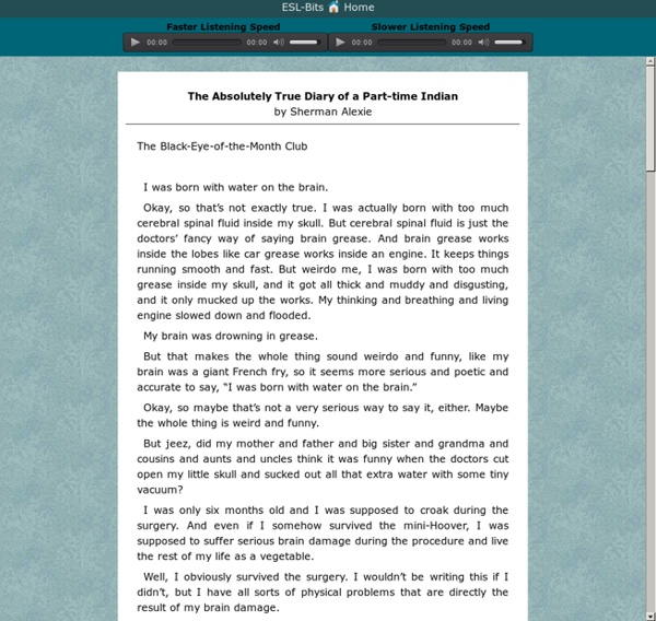 Skip Reske's ESL BITS - English Language Learning - ESL Listening Stories, Songs, Audiobooks