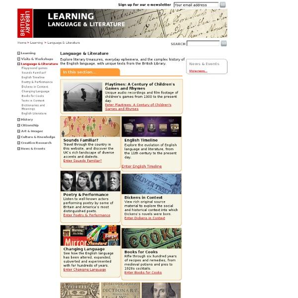 British Library-Language & Literature