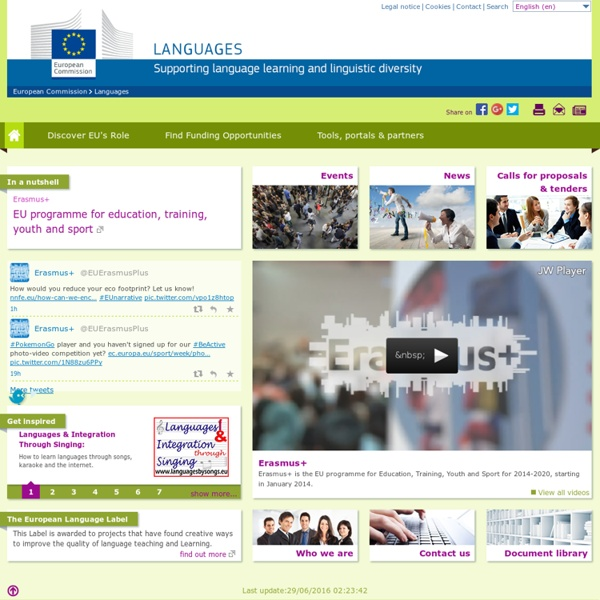 European Commission - Languages