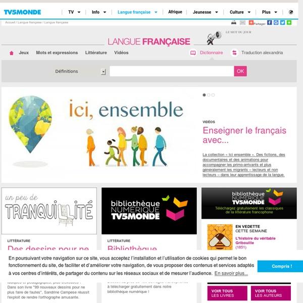 TV5 Monde - Langue française
