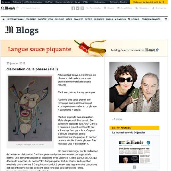 Le blog des correcteurs du Monde.fr