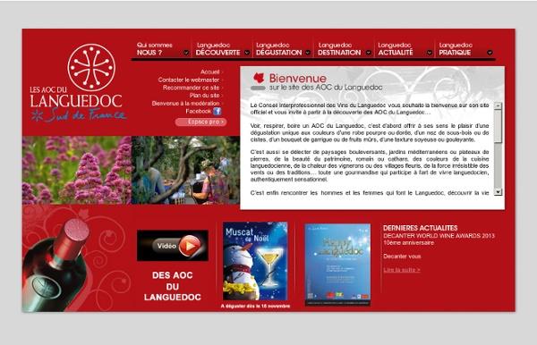 Vin A.O.C. du Languedoc - Conseil interprofessionnel des vins du Languedoc