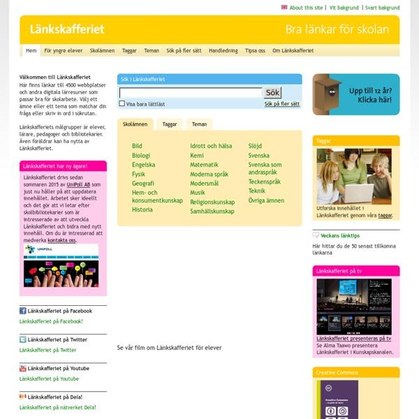 Länkskafferiet - Lankskafferiet.org
